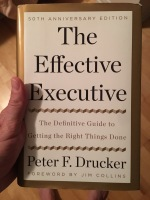 "Review of ""The Effective Executive"""